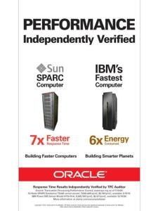 Truth in Advertising - Oracle Claims about Performance and Energy Consumption